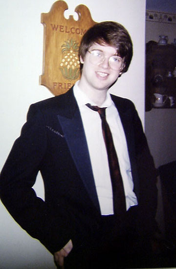 Me stylin' in my tux, circa 1995 or so.